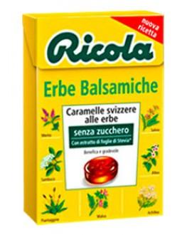 Леденцы RICOLA Erbe Balsamiche Классические Травы 50 г (7610700901007)