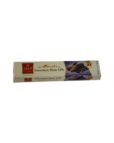 Шоколад Frey Chocobloc Dark 55% черный с медово-миндальной нугой 100 г