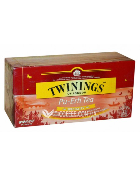Чай TWININGS Pu-erh Tea Пу-эр 25 х 2 г