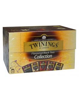 Чай TWININGS Collection Flavoured Black Teas Асорті Чорний Ароматизований Чай 20 х 2 г (070177174736)