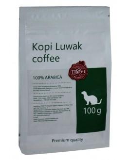 Кофе TREVI Арабика Kopi Luwak Копи Лювак зерновой 100 г (4820140050910)