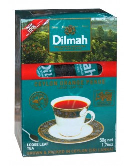 Чай DILMAH Ceylon Orange Pekoe Цейлон Оранж Пеко 50 г (9312631122268)