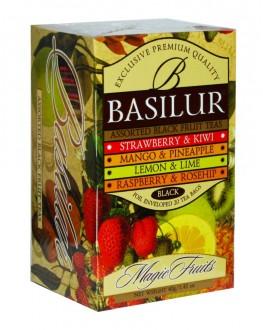 Чай BASILUR Assorted Black Tea Асорті Чорний Чай - Чарівні Фрукти 25 х 2 г (4792252001107)