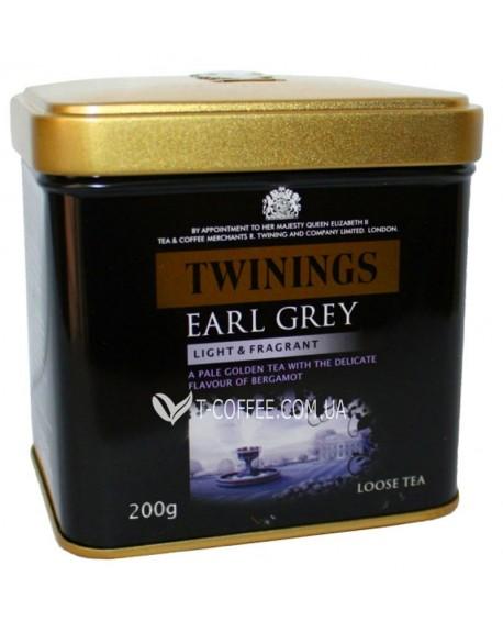 Чай TWININGS Earl Grey Эрл Грей 200 г ж/б (070177247454)
