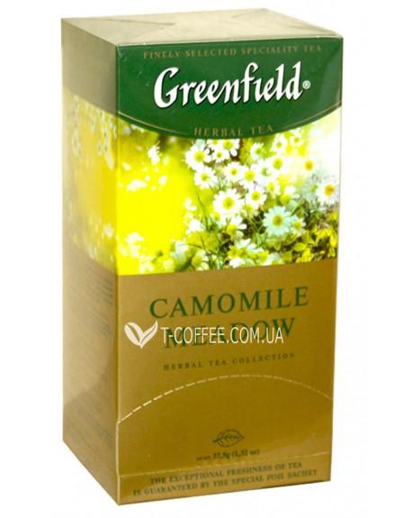 Чай Greenfield Camomile Medow Ромашка 25 х 1,5 г (4823096802664)