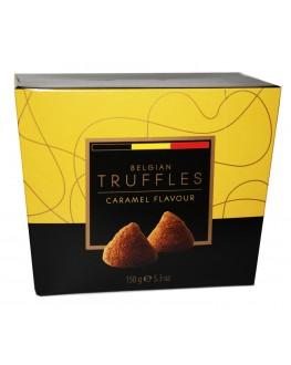 Цукерки BELGIAN TRUFFLES Caramel Flavour Карамель 150 г в коробці (5420066370001)