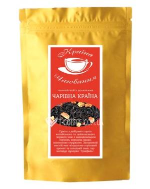 Волшебная Страна черный ароматизированный чай Країна Чаювання 100 г ф/п