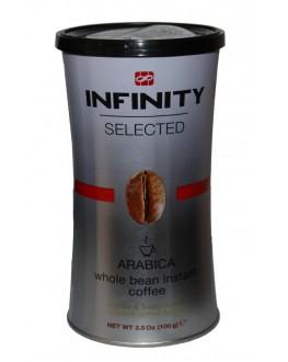 Кава INFINITI Selected Arabica цільнозернова розчинна 100 г ж/б (4260283250592)