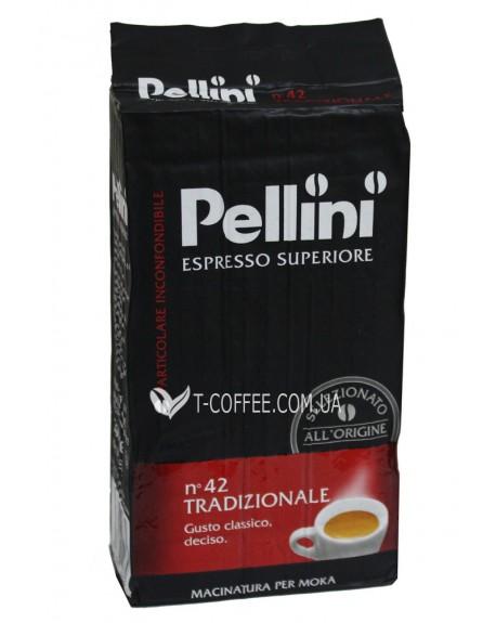 Кофе Pellini Espresso Superiore Tradizionale молотый 250 г (8001685122379)