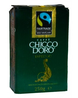 Кава CHICCO D'ORO Espresso Max Havelaar мелена 250 г (7610899002011)