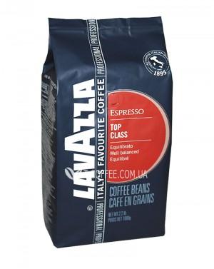 Кофе Lavazza Espresso Top Class зерновой 1 кг (8000070020108)