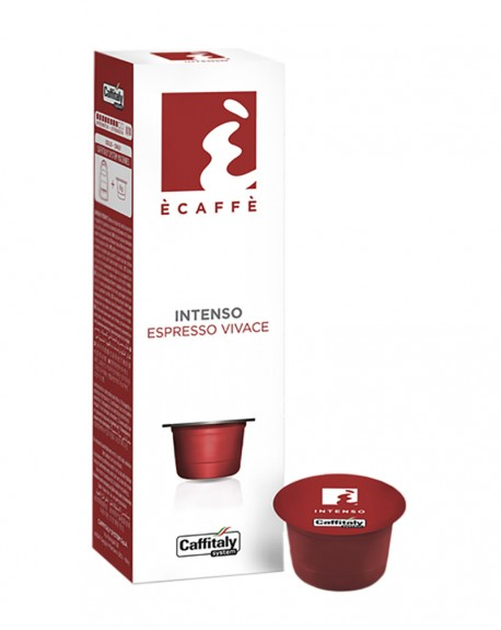 Кофе Ecaffe Intenso в капсулах 10 х 8 г