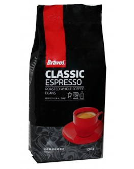 Кава BRAVOS Classic Espresso зернова 1 кг (5997349300500)