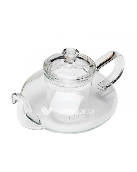 Чайник стеклянный Нежность 500 мл