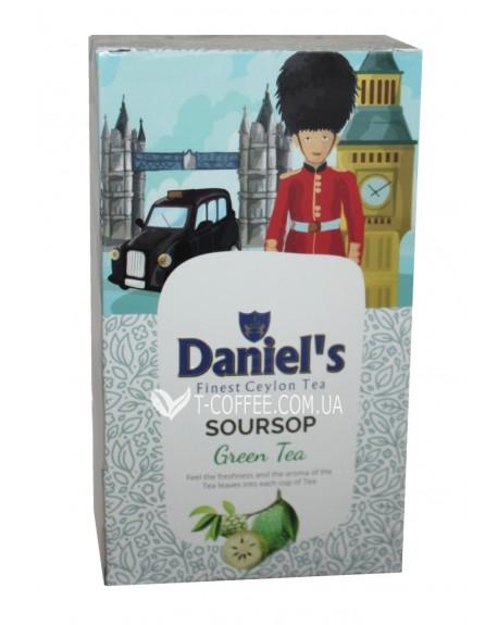 Чай Daniel's Soursop Green Tea 100 г к/п (4796017690582)