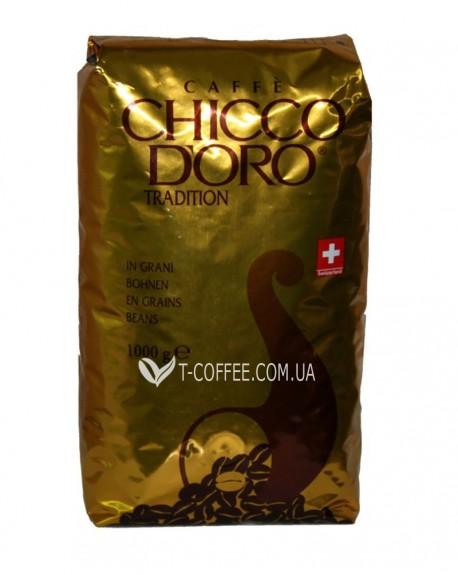 Кофе Chicco d'Oro Tradition зерновой 1 кг (7610899110006)