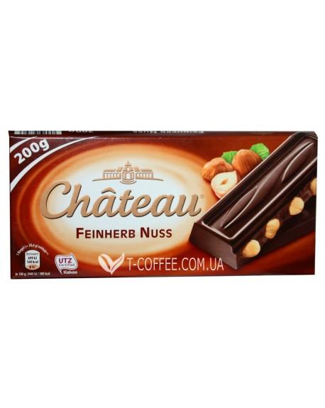 Шоколад Chateau Feinherb Nuss Черный с Лесным Орехом 200 г (29039746)
