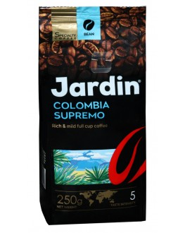Кава JARDIN Specialty Colombia Supremo 100% Arabica зернова 250 г (4823096801407)