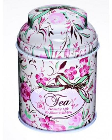 Банка Tea Розовая жестяная 80 г