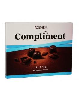 Цукерки ROSHEN Compliment Truffle 120 г в коробці (4823077629440)