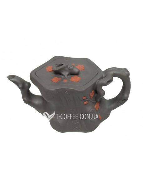 Чайник глиняный Пенек 350 мл