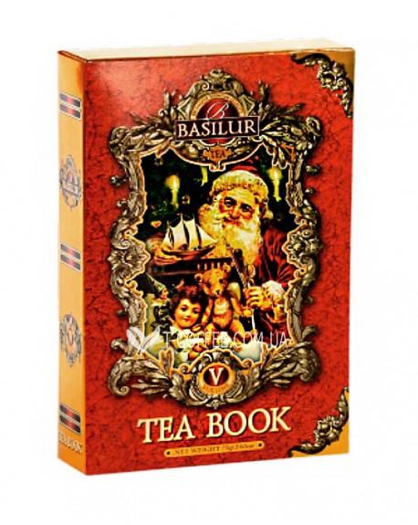 Чай BASILUR Winter Book Том 5 - Зимняя Книга 75 г к/п (4792252927520)