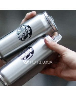 Термобанка Starbucks 500 мл металлическая