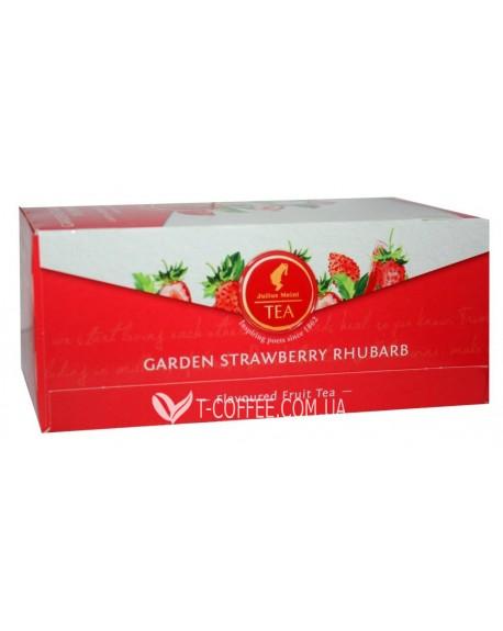 Чай Julius Meinl Garden Strawberry Rhubarb Клубника Ревень 25 х 2,5 г (9000403885939)