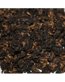 Золотая Улитка черный элитный чай Османтус