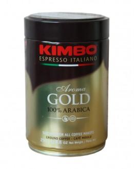 Кава KIMBO Aroma Gold 100% Arabica мелена 250 г ж/б (8002200102128)