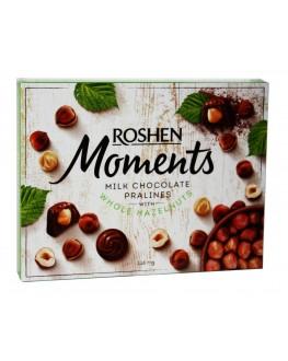 Цукерки ROSHEN Moments Моменти 116 г в коробці (4823077627750)