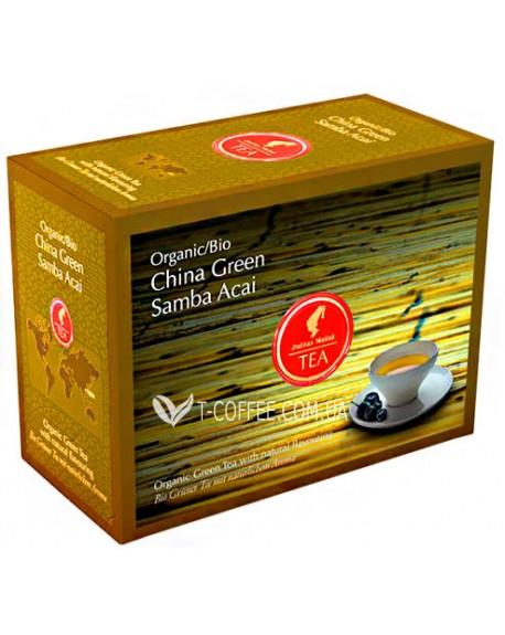 Чай Julius Meinl Bio China Green Samba Acai Самба Асаи 20 x 3,25 г