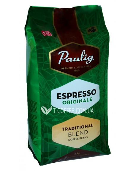 Кофе Paulig Espresso Originale Traditional Blend зерновой 1 кг (6418474039015)