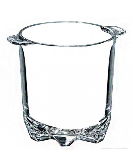 Ведерко для льда Borgonovo Polka 13216020 стеклянное 700 мл