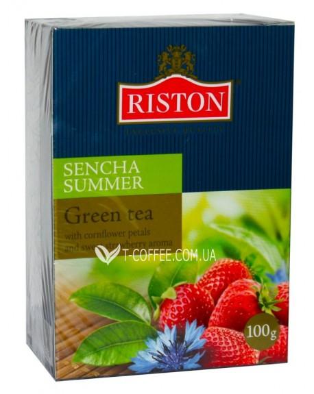 Чай Riston Green Tea Sencha Summer Сенча Саммер 100 г к/п