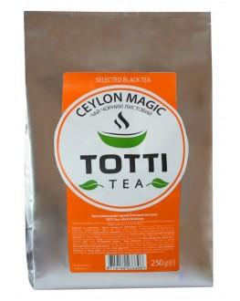 Чай TOTTI Ceylon Magic Магия Цейлона 250 г ф/п (8719189233308)