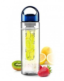 Бутылка Fruit bottle синяя 800 мл