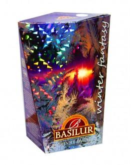 Чай BASILUR Winter Dawn Зимний Рассвет - Зимняя Фантазия 85 г к/п (4792252932685)