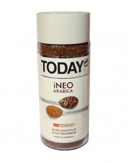 Кава TODAY Ineo Arabica цільнозернова розчинна 95 г скл. б. (5060300570134)