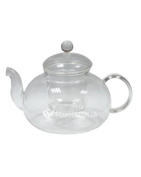 Чайник стеклянный Жемчужина 500 мл