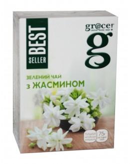 Чай GRACE! Зелений з Жасмином - Бестселер 75 г (5060207697637)