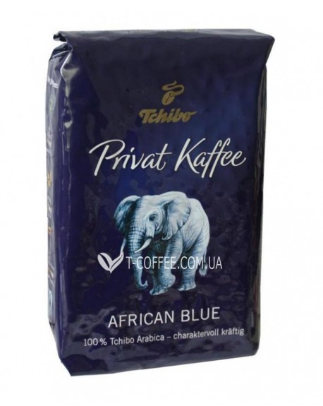 Кофе Tchibo Privat Kaffee African Blue зерновой 500 г (4006067081101)