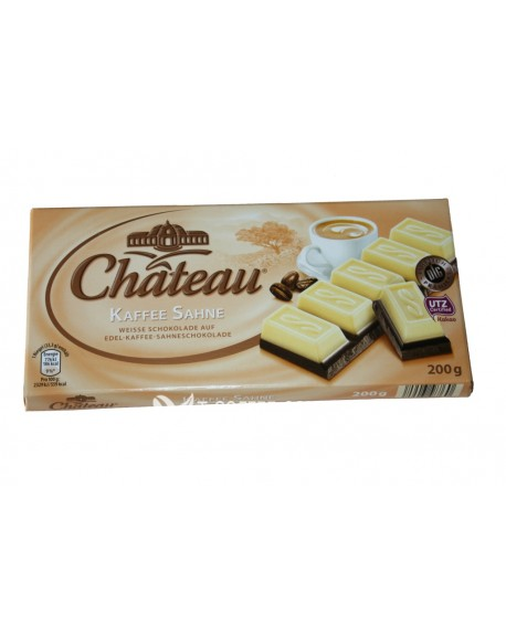Шоколад Chateau Kaffee Sahne Кофе Сливки 200 г
