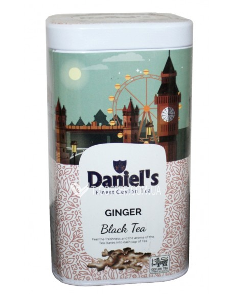 Чай Daniel's Ginger Black Tea 100 г ж/б (4796017690568)