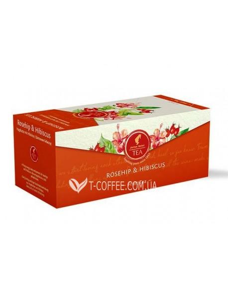 Чай JULIUS MEINL Rosehip Hibiscus Шиповник Гибискус 25 х 2,5 г