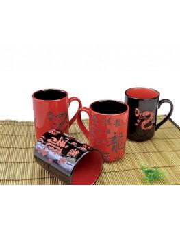 Керамический набор кружек Бонсай Лун Ван