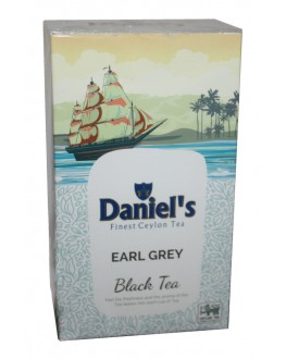 Чай DANIEL'S Earl Grey Black Tea 100 г к/п (4796017690520)