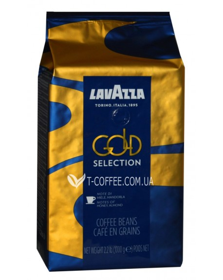 Кофе Lavazza Espresso Gold Selection зерновой 1 кг (8000070043206)