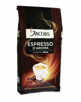 Кофе JACOBS Espresso D'Aroma зерновой 1 кг