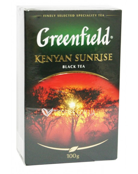Чай Greenfield Kenyan Sunrise Кения 100 г к/п (4823096801223)